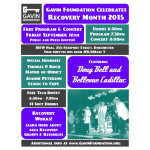 Gavin Foundation Recovery Month Flyer 2015 Square Version